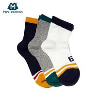抢!【秒杀包邮】【三双装】迷你巴拉巴拉儿童袜子夏季薄款男袜新款男童宝宝短袜