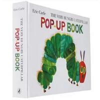 好饿的毛毛虫 立体书 英文原版 The Very Hungry Caterpillar Pop-Up Book
