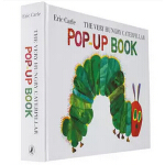 好饿的毛毛虫 立体书 英文原版 The Very Hungry Caterpillar Pop-Up Book