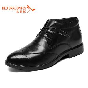 红蜻蜓男鞋商务皮鞋正装鞋子男WTD6226