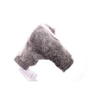 时尚男士手套冬季保暖连指情侣毛线均码 兔毛手套女可爱冬厚毛绒针织