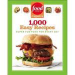 【预订】Food Network Magazine 1,000 Easy Recipes: Super Fun