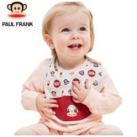 TWA1173437大嘴猴(Paul Frank) 儿童吃饭围兜 宝宝口水兜 围兜22x20cm 4条/袋
