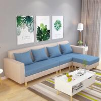 亿家达沙发客厅整装布艺沙发小户型北欧沙发套装组合三人四人位