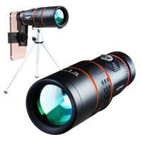 单筒望远镜 高倍高清夜视非红外军演唱会儿童观鸟寻星手机拍照望远镜 全光学升级版12*50 T01