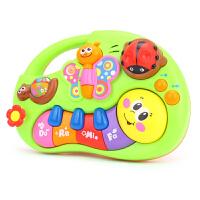 汇乐启蒙掌上益智学习琴0-6-12个月婴儿宝宝哄睡安抚音乐玩具