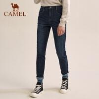 CAMEL/骆驼户外休闲 轻薄牛仔裤男青年中腰直筒牛仔休闲潮流长裤
