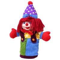 大号手套玩偶小丑37cm金儿童爱手偶玩具娃娃公仔