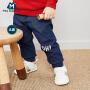 【满200减130】迷你巴拉巴拉婴儿纯棉裤子2019春款新品男女宝宝裤子儿童透气长裤
