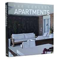 THE COOLEST APARTMENTS 酷爽公寓 居住空间 欧式简约风格 装修效果图 室内设计书籍 住宅设计图书