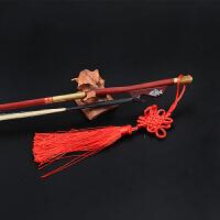 二胡弓子 演奏家真白马尾毛精品紫檀二胡琴弓 二胡乐器配件