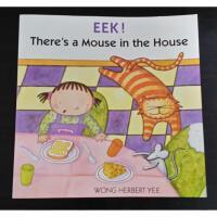 【全店300减100】汪培�E推荐第三阶段Eek! There's a Mouse in the House原版图书