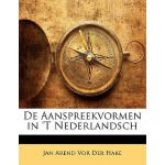 【预订】de Aanspreekvormen in 't Nederlandsch