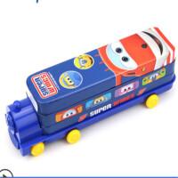 文具盒小学生笔盒男童创意汽车造型铅笔盒铁盒儿童米奇礼品