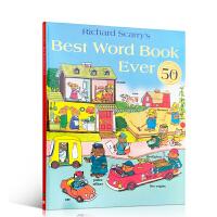 【全店300减100】进口英文原版正版 Richard Scarry's Best Word Book Ever 忙忙碌