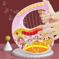 手提竖琴0-1-3岁初学者儿童小吉他玩具男女孩可弹奏乐器