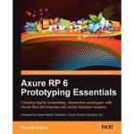 【预订】Axure Rp 6 Prototyping Essentials