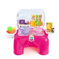 儿童过家家迷你小厨房餐具宝宝玩具灶娃娃屋套装3-5周岁6女孩