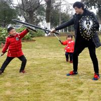 兵器 男孩玩具剑武器新型玩具刀剑 儿童学生安全仿真宝剑模型