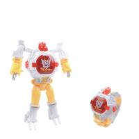 抖音儿童变形金刚电子手表小孩学生礼物男女童机器人模型玩具