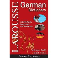 【预订】Larousse Concise German Dictionary: German
