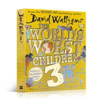 英文原版 World's Worst Children 3儿童英语启蒙课外读物 趣味彩色插画 幽默搞笑小说 阅读进阶桥