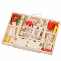 儿童工具箱动手玩具男孩过家家套装维修木制木质智力