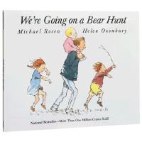【顺丰速运】英文原版绘本 We're are Going on a Bear Hunt 我们一起去抓猎熊 大开平装书赠