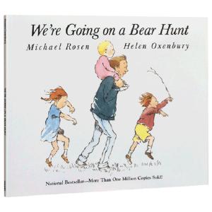 【送音频】廖彩杏推荐 英文原版绘本 We're are Going on a Bear Hunt 我们去猎熊 亲情父爱趣味故事图书 0-6岁 韵文阅读亲子启蒙图画童书