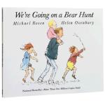 【顺丰包邮】英文原版绘本 We're are Going on a Bear Hunt 我们一起去抓猎熊 大开平装书赠