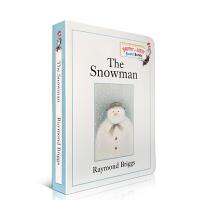 【全店300减100】英文原版绘本 The Snowman 雪人纸板书 Christmas 圣诞 New year 新年
