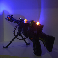 儿童电动枪声光音乐玩具枪套装2-3-4-6岁男孩玩具枪