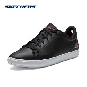 Skechers斯凯奇女鞋2018新款轻便舒适小白鞋休闲运动鞋板鞋14550