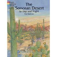 【预订】The Sonoran Desert by Day and Night