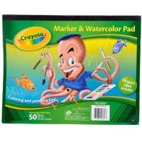美国Crayola绘儿乐 马克笔 水笔水彩颜料专用画纸 99-3403