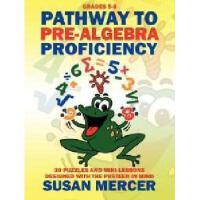 【预订】Pathway to Pre-Algebra Proficiency: 30 Puzzles and