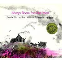 Always Room for One More 英文原版儿童书 永远都还有一个空间 1966年凯迪克金奖绘本