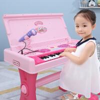 儿童大电子琴女孩玩具学习桌早教音乐小孩宝宝大钢琴 6-15岁