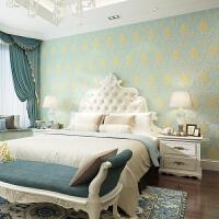 竖条纹卧室墙纸无纺布客厅背景墙壁纸