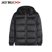 JACKWALK商场同款连帽款羽绒拉夏贝尔男装杰克沃克