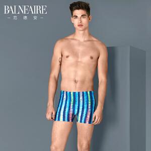 【全场包邮】范德安2018新款男士泳裤 运动平角大码游泳裤 时尚速干防晒沙滩裤