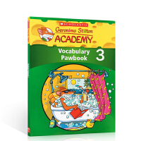 英文原版 Geronimo Stilton Academy Vocabulary Pawbook Level 3 老鼠