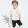 【2件3.8折】迷你巴拉巴拉男童纯棉短袖套装2019夏装新款儿童潮酷套装两件套