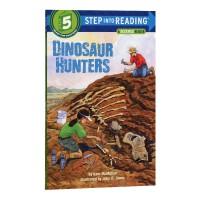 捕龙达人 兰登step into reading 5阶英文原版 Dinosaur Hunters