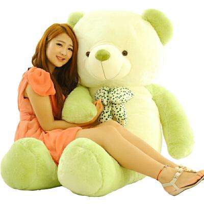 可爱女孩抱抱熊毛绒玩具大布娃娃玩偶泰迪熊猫公仔圣诞节礼物生日