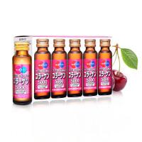 日本进口 明治 胶原蛋白口服原液 提拉紧致抗衰老精华液果味饮品 50ml*10瓶