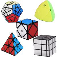 比赛专用儿童玩具 金字塔初学者三阶魔方套装全套异形镜面顺滑