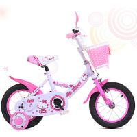 脉驰新款宝宝小孩3/6/8岁小孩公主车儿童自行车12寸14寸16寸18公主单车女款脚踏童车