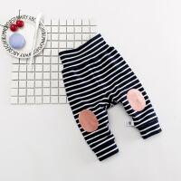 宝宝加绒裤子女0-1岁婴幼儿童加厚保暖裤外穿高腰婴儿棉裤秋冬潮3