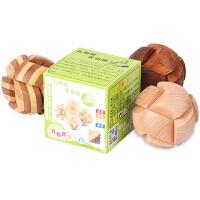 木制智力玩具 玩具 智力玩具古典玩具孔明锁足球锁